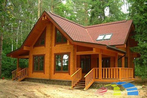 Cтроительство деревянных домов из бруса