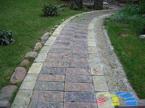 Как сделать садовые дорожки на своем участке