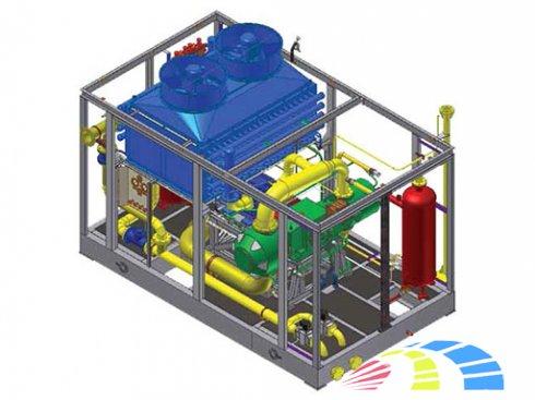 газовый дожимной компрессор