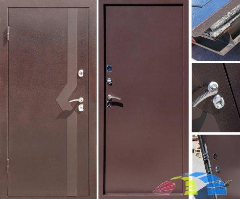 Дверь с терморазрывом для самых сильных морозов