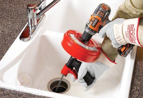 Прочистка канализации – работа для профи