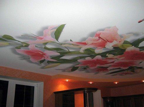 Натяжные потолки это самый простой способ декорировать поверхность