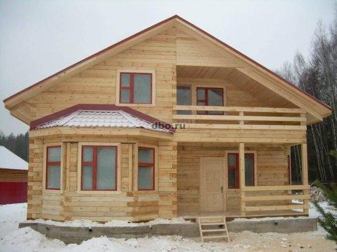 Популярность деревянных домов