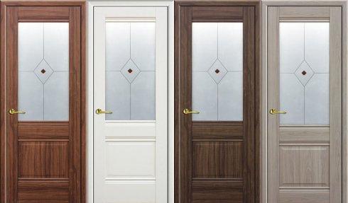 Преимущества дверей экошпон