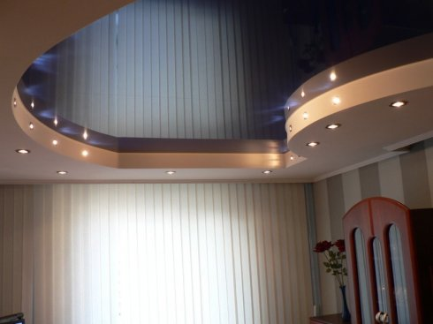 Типы натяжных потолков в Щелково