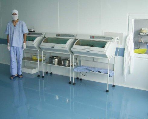 Наливные полы для медицинских учреждений