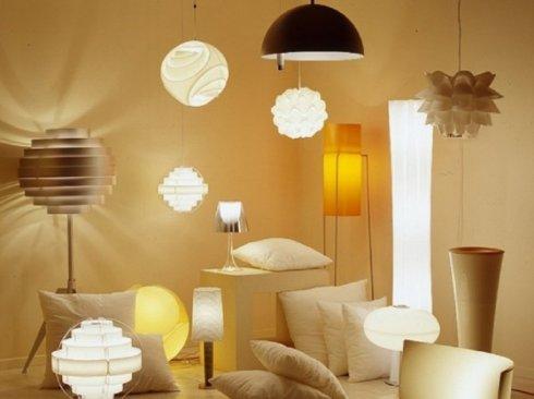 Светильник. Разные виды приборов освещения