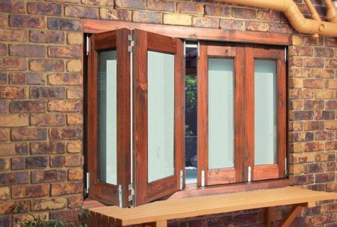 Складные окна-гармошки